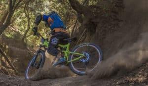 Nature sand Mountain Bike